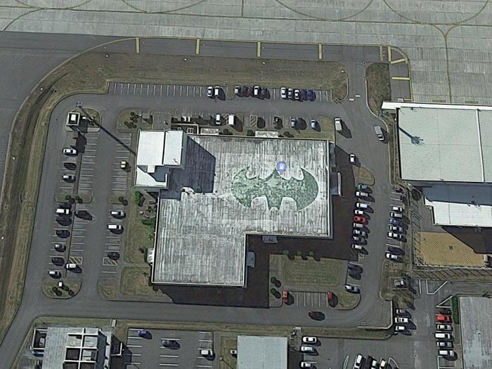 Пять интересных мест, рассекреченных благодаря Google Maps - фото 4