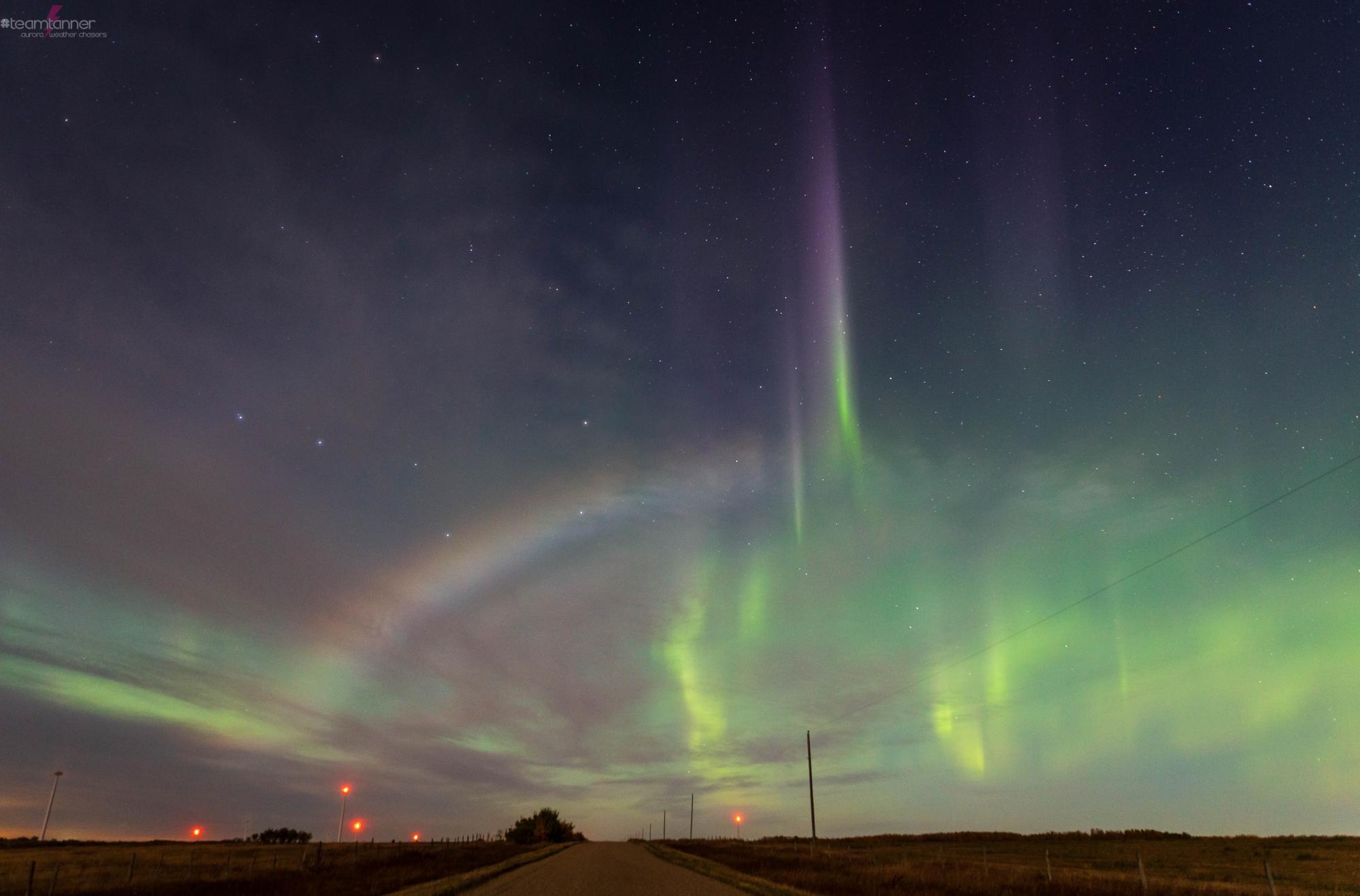 У небі над Канадою побачили рідкісну місячну веселку - фото 2