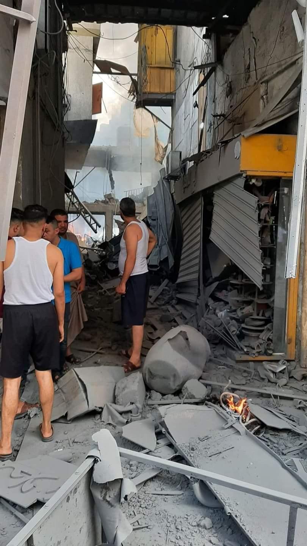 В Газе произошел мощный взрыв на рынке: есть раненые и погибшие (ФОТО) - фото 2