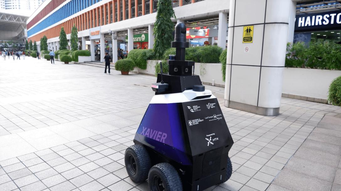 В Сингапуре за общественным порядком следят роботы-патрульные: как они выглядят (ФОТО) - фото 2