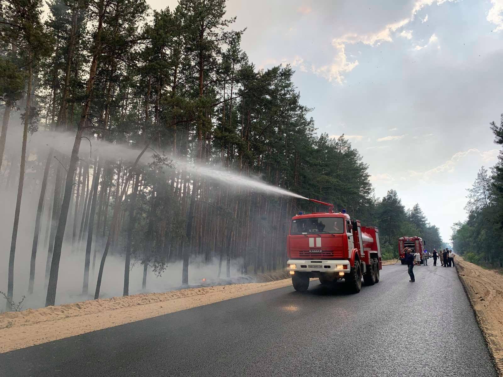Пожары в Луганской области: устрашающие фото масштабного огня - фото 5