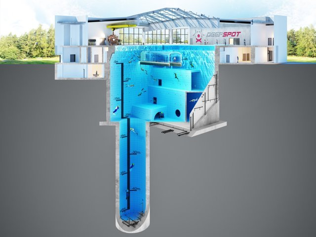 В Польше открыли гигантский бассейн с подводным отелем - фото 2