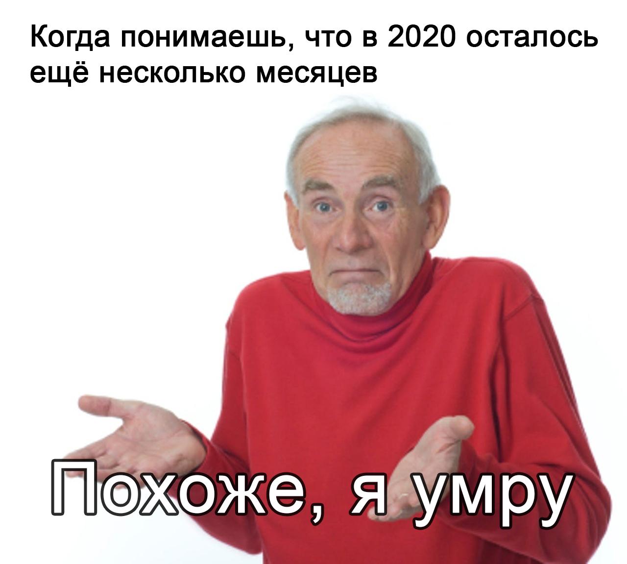 Лучшие мемы уходящего 2020 года - а напоследок улыбнитесь - фото 5