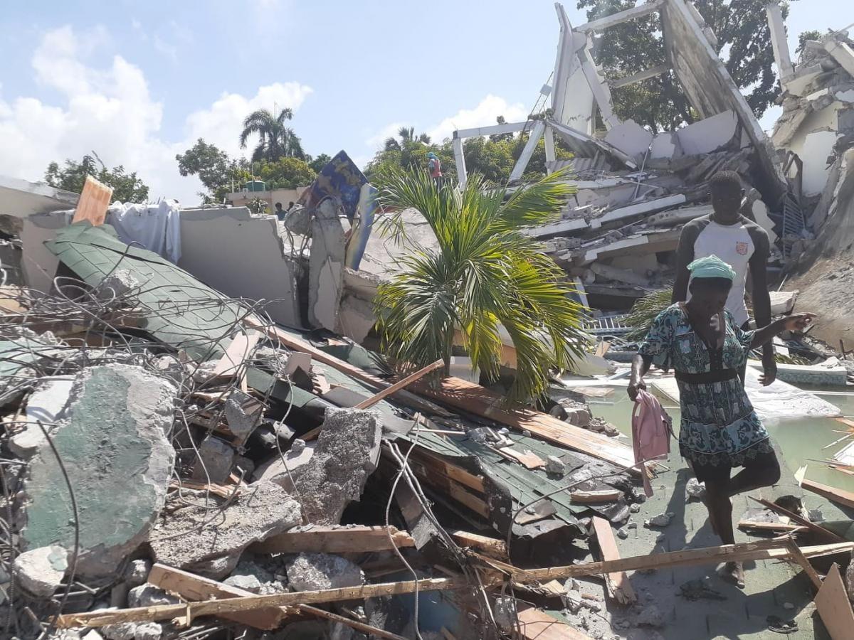 Число жертв из-за сильного землетрясения на Гаити увеличилось: разрушены города (ФОТО)  - фото 3