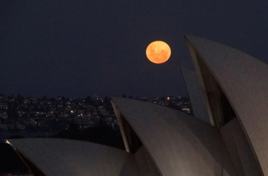 Розовая луна 2021: как выглядело суперлуние в разных уголках планеты (ФОТО)  - фото 4