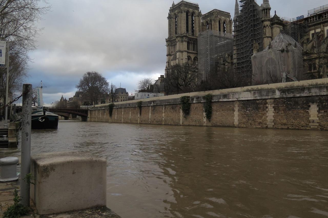 В Париже наводнение: как выглядит французская Венеция (ФОТО, ВИДЕО) - фото 4