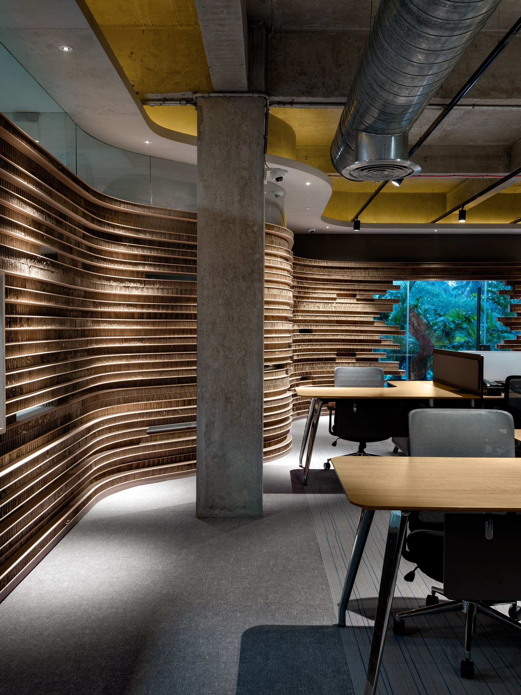 Офис из картона: фото впечатляющего экодизайна - фото 3