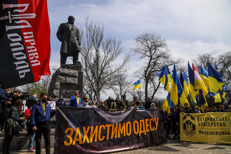 Годовщина событий 2 мая: в Одессе состоялся «Марш защитников города» (ФОТО) - фото 8