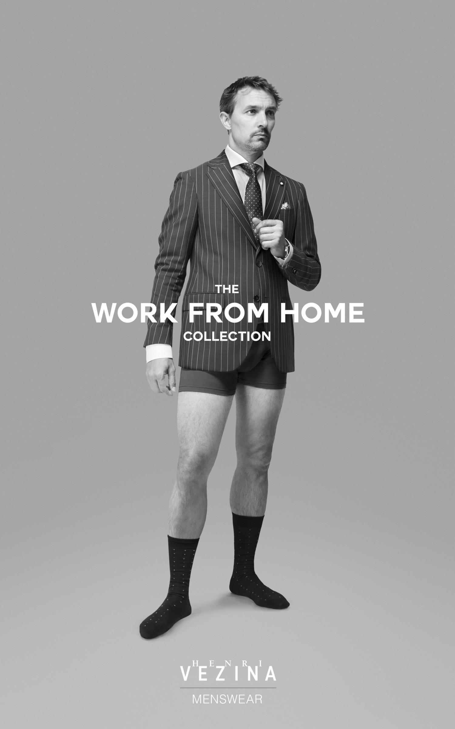 Канадский бренд Henri Vézina представил коллекцию одежды для работы из дома - фото 2