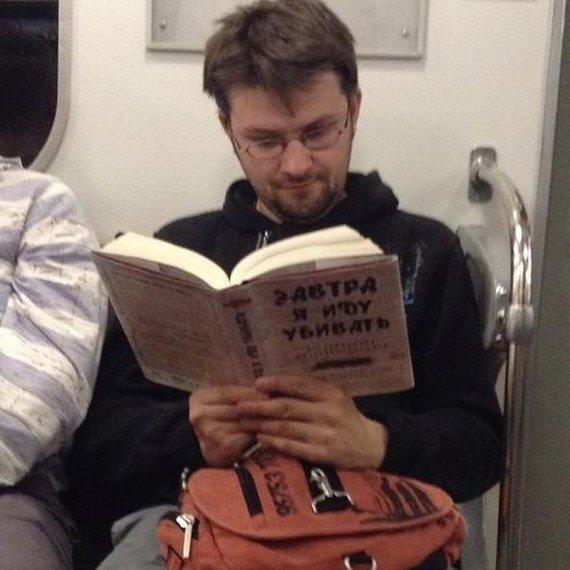 Добірка смішних та дуже дивних пасажирів в метро (Фото) - фото 8