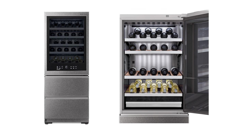 Південнокорейська компанія представила смарт-шафу для вина - фото 2