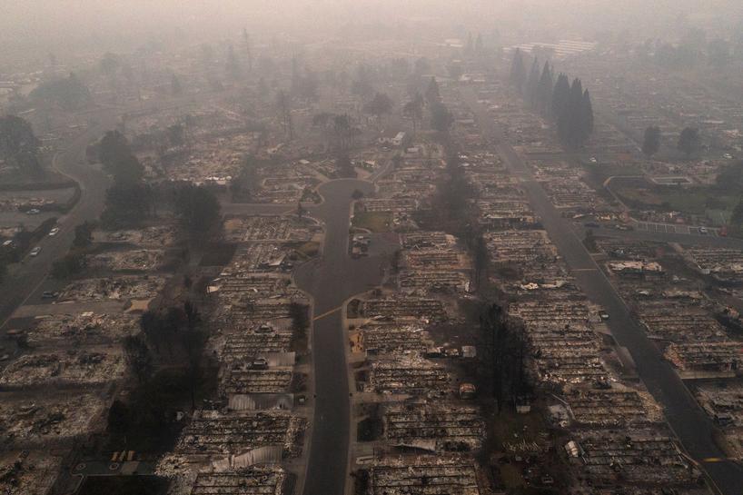 Лесные пожары в США: около полумиллиона человек в Орегоне вынуждены покинуть свои дома - фото 3