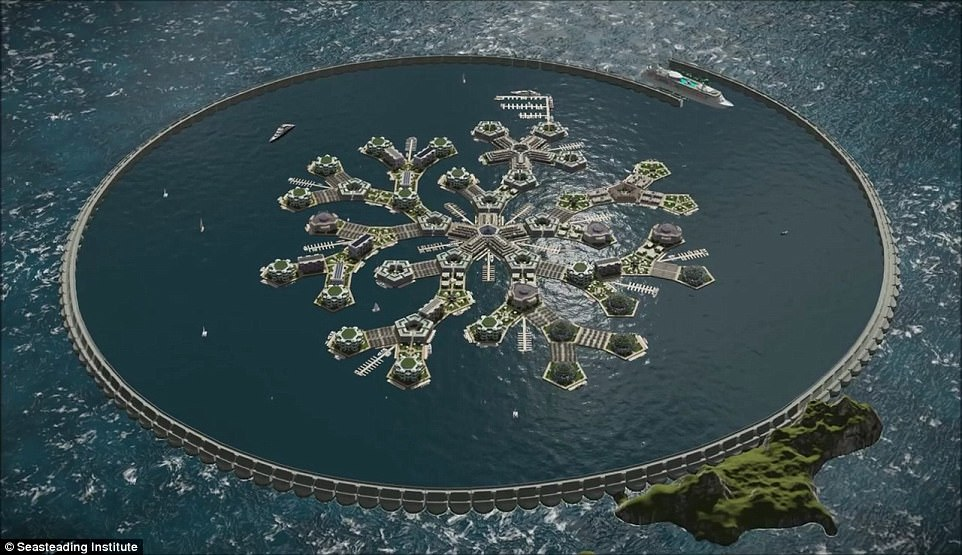 У 2022 році з'явиться місто у відкритому океані - фото 2