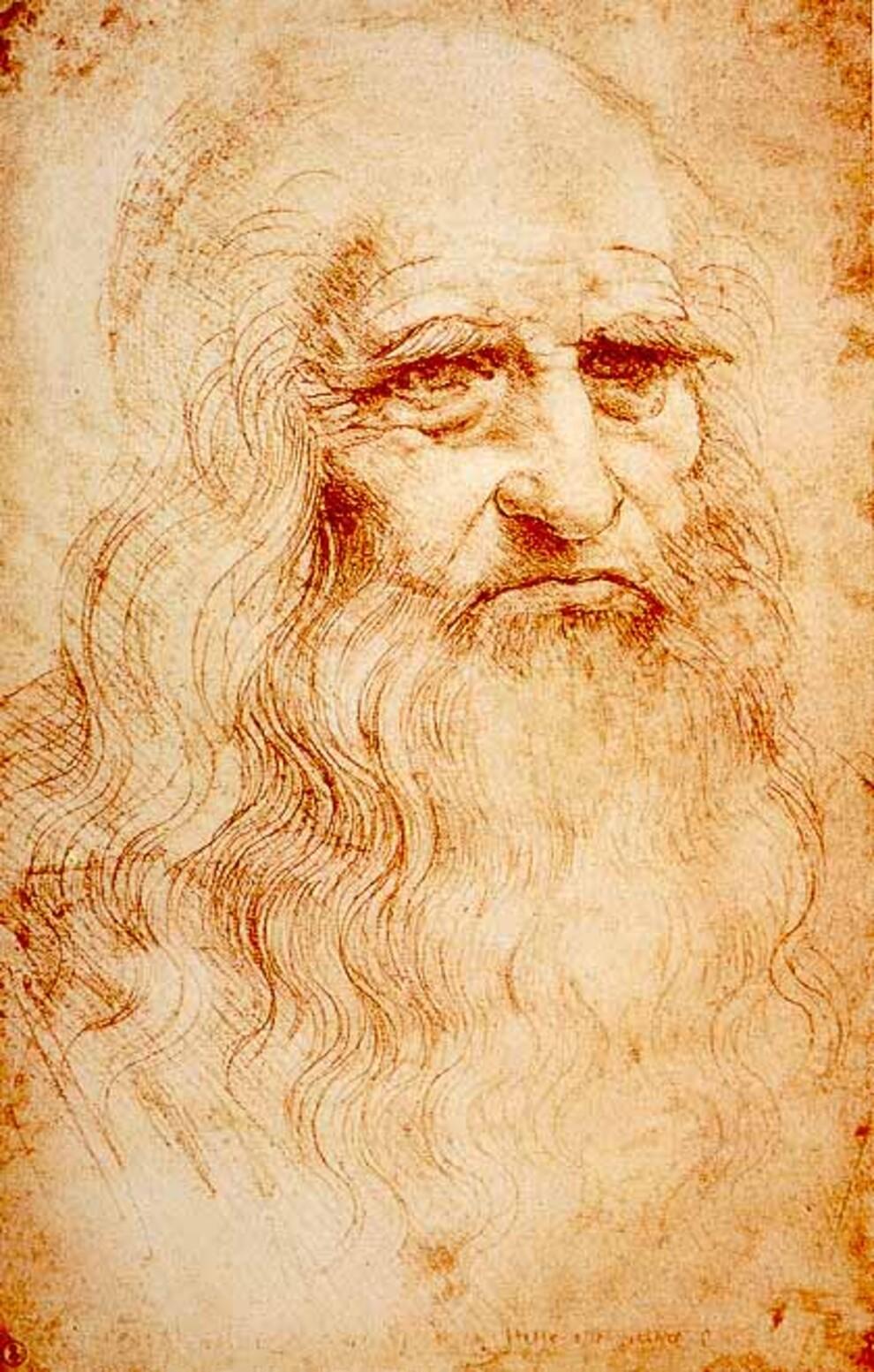 В Италии нашли эскиз Леонардо да Винчи, на котором изображен Христос - фото 3
