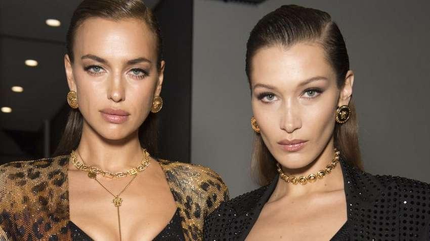 Ирина Шейк и Белла Хадид снялись для Vogue без макияжа