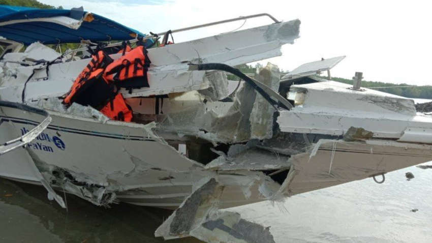 В Таиланде туристические катера попали в аварию: есть погибшие и травмированные
