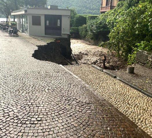 Италию накрыл сильный ливень: стихия разрушает города (ФОТО)