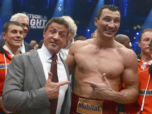 Сталлоне та Кличко