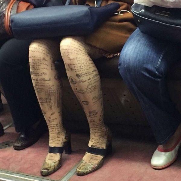 Добірка смішних та дуже дивних пасажирів в метро (Фото) - фото 10