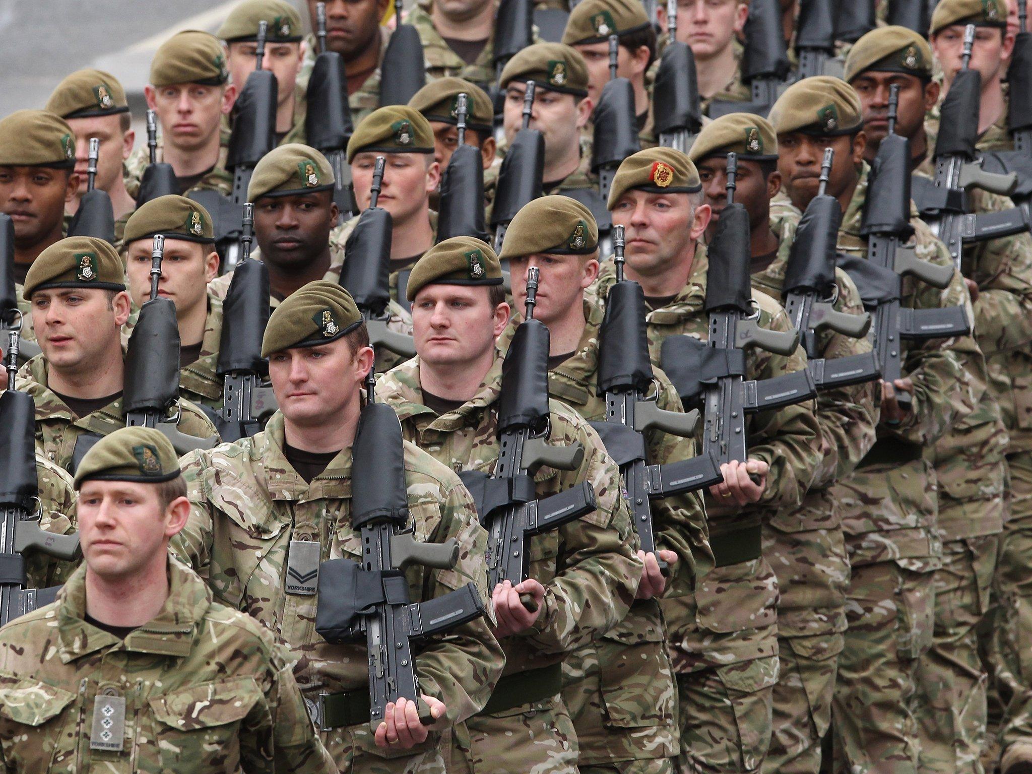Армии мира в картинках