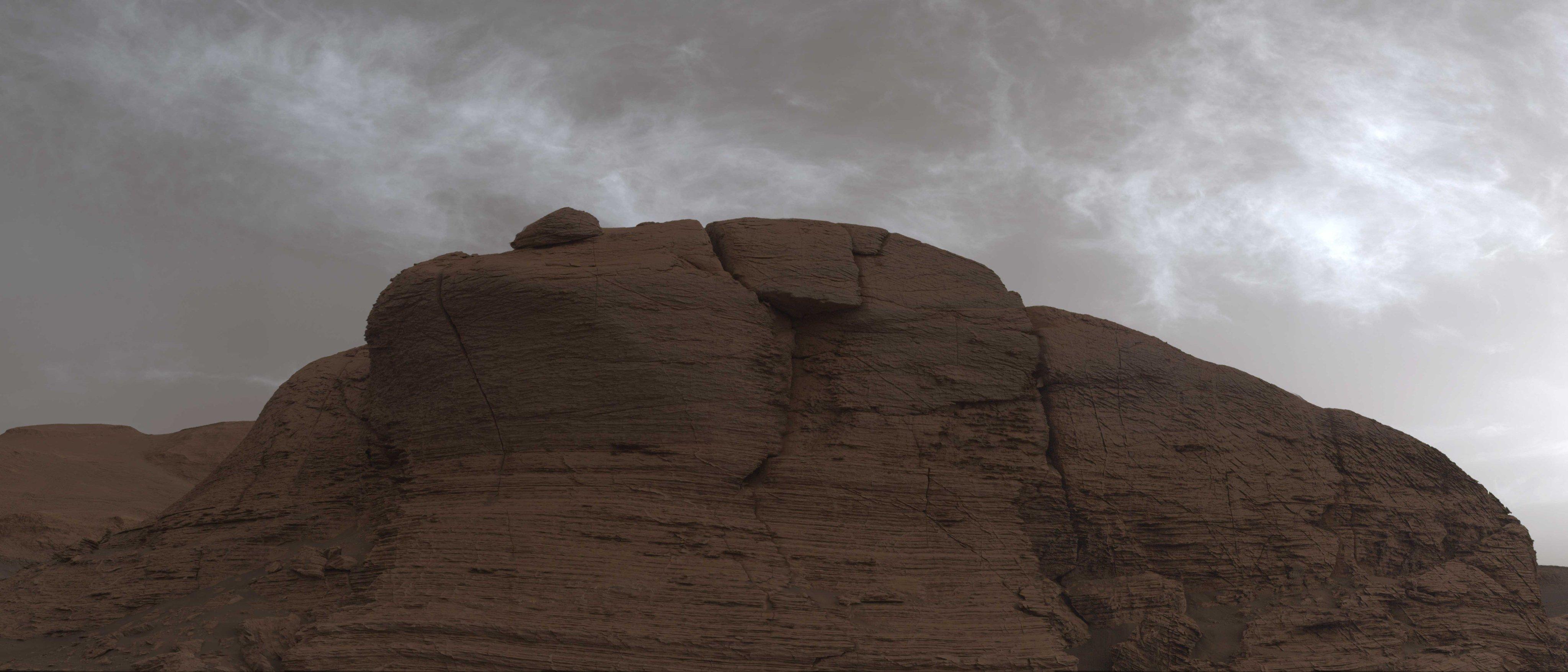 Как выглядит марсианское небо: марсоход NASA сделал несколько фотографий  - фото 3
