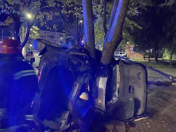Удар був такої сили, що дерево виявилося вирваним з коренем - в Одеській області страшне ДТП, яке забрало життя - фото 4