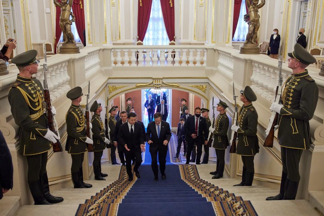 В Украину прибыл президент Израиля: как проходит его официальный визит - фото 6