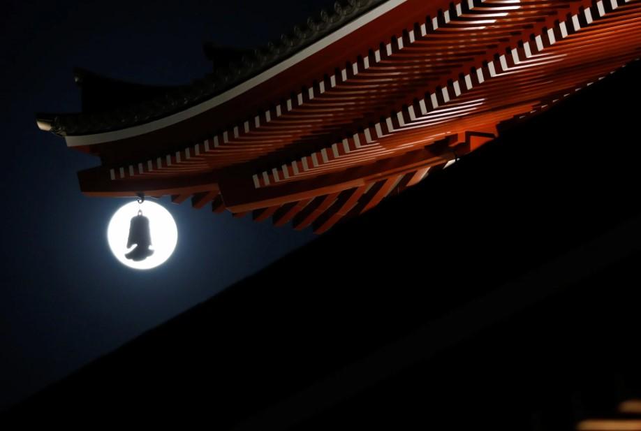 Розовая луна 2021: как выглядело суперлуние в разных уголках планеты (ФОТО)  - фото 2