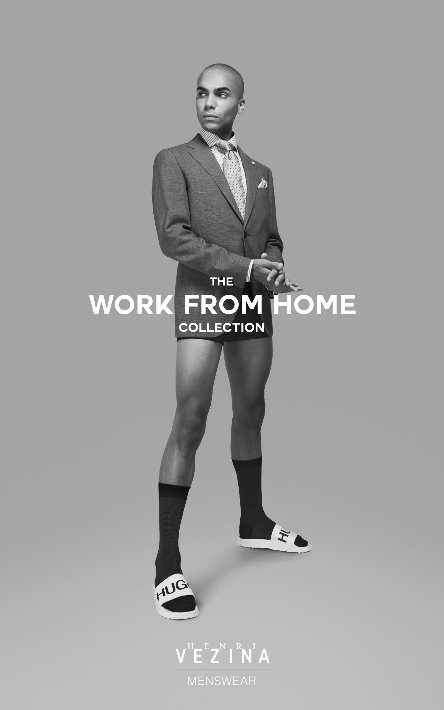 Канадский бренд Henri Vézina представил коллекцию одежды для работы из дома - фото 3