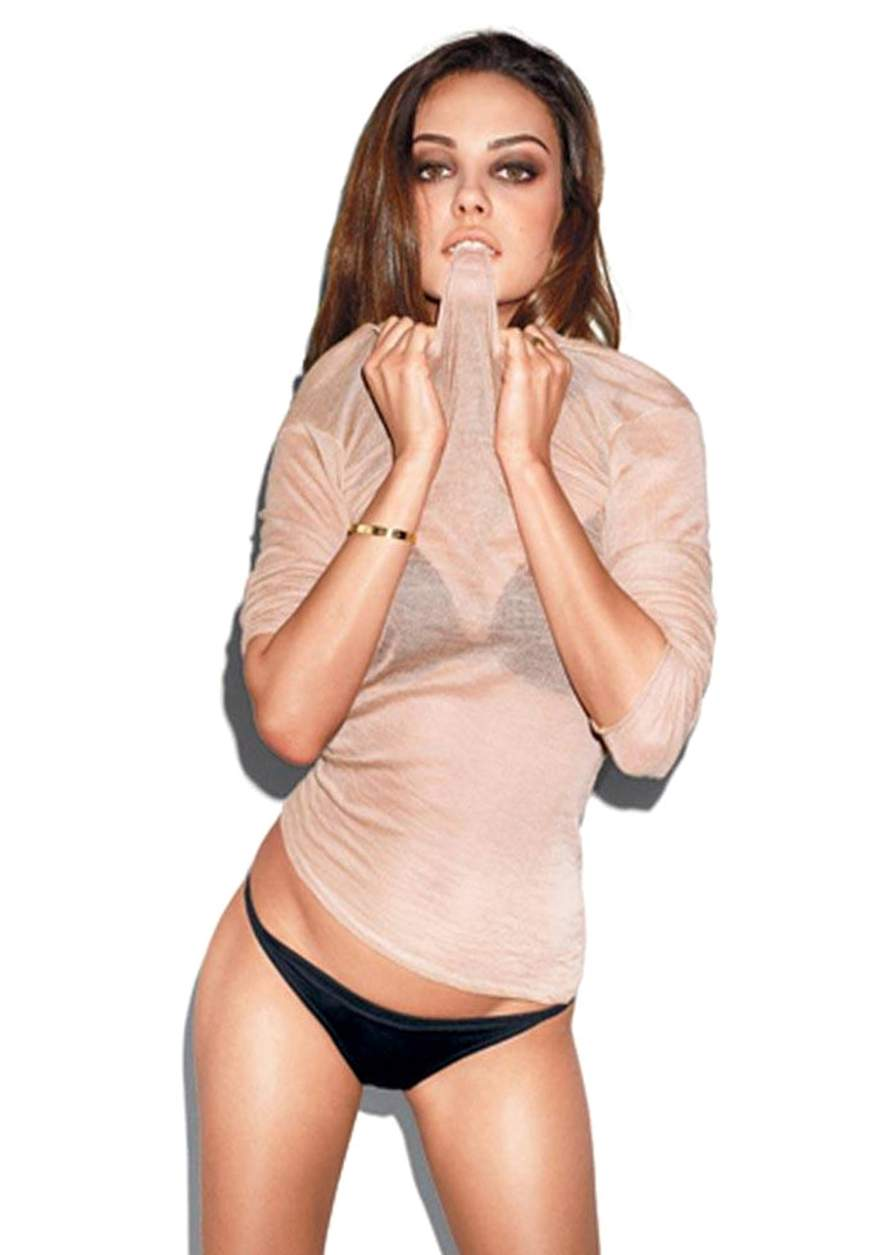 Горячие фото голливудской актрисы украинского происхождения Милы Кунис - фото 4