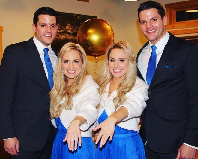 Комбо: в США сестры-близнецы одновременно ждут детей от супругов-близнецов (фото) - фото 4