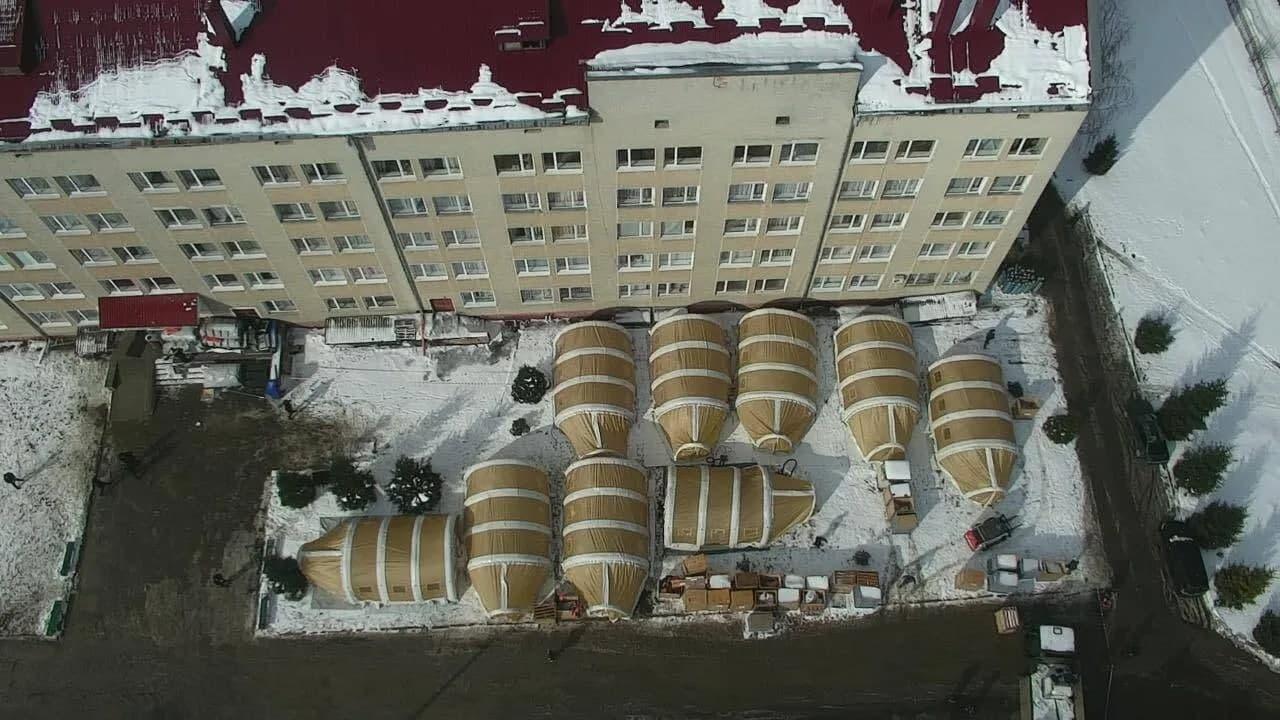 В Украине заработал первый мобильный госпиталь для коронавирусных больных (ФОТО) - фото 3