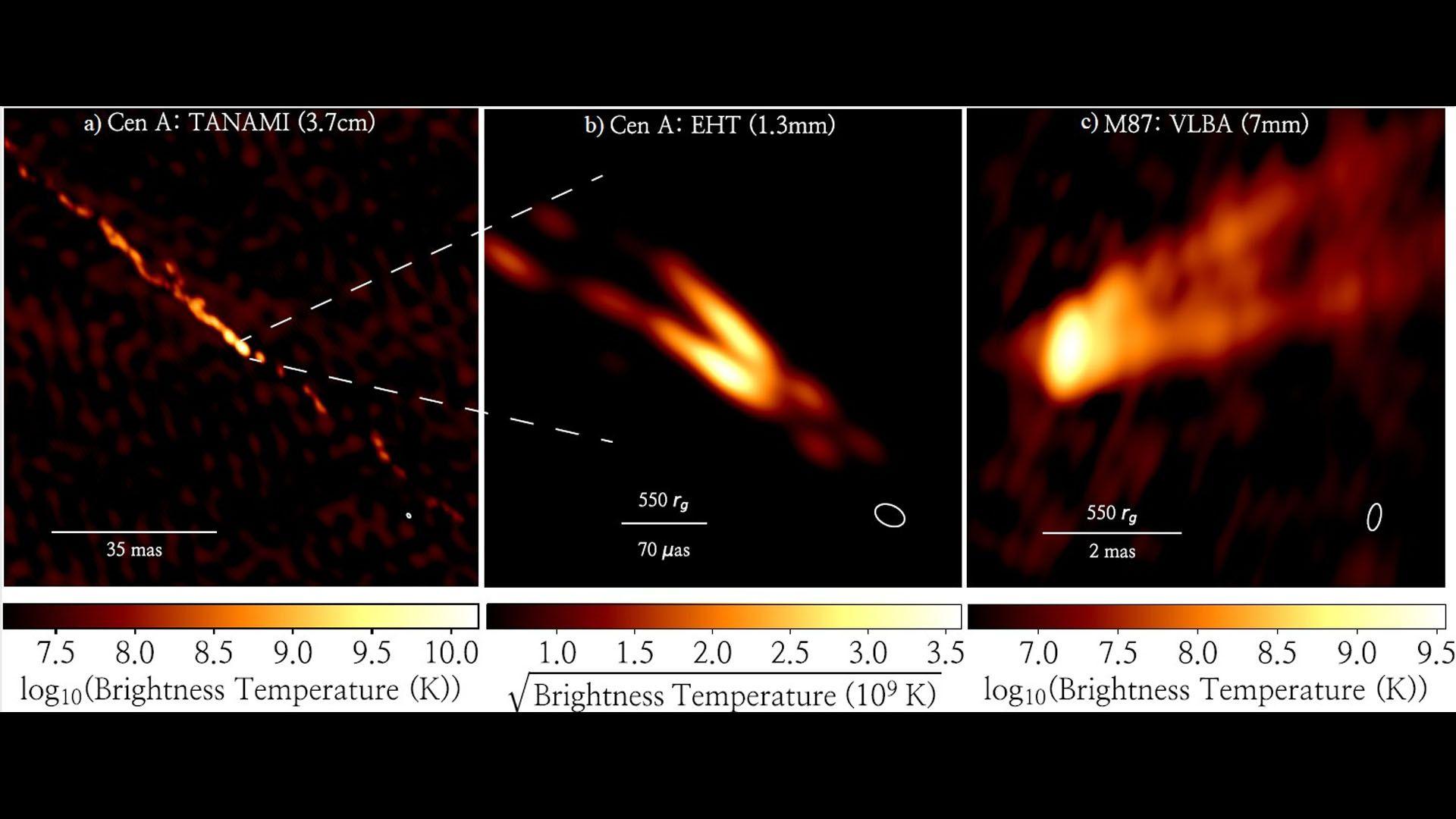 Ученым удалось запечатлеть струи плазмы, которые вырываются из чёрной дыры (ФОТО) - фото 2