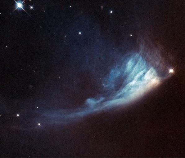 Hubble зафиксировал быстрые изменения вокруг новой звезды (ФОТО)  - фото 2