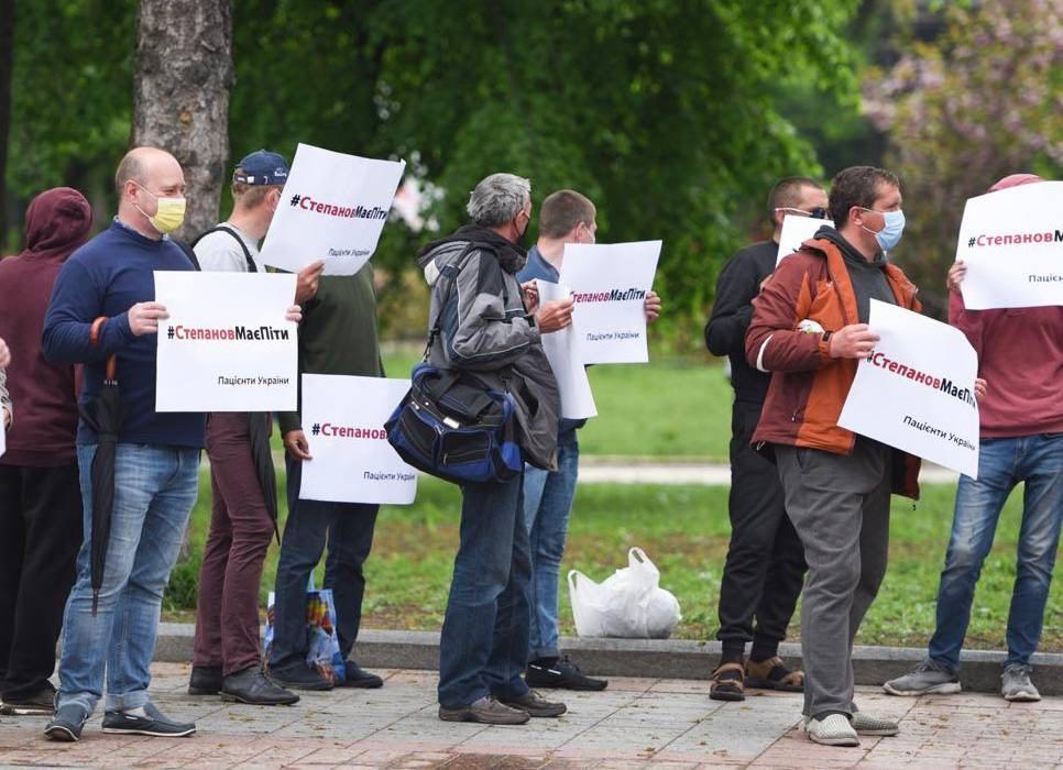 Мітинг за відставку глави МОЗ Степанова був проплаченим (ФОТО) - фото 3