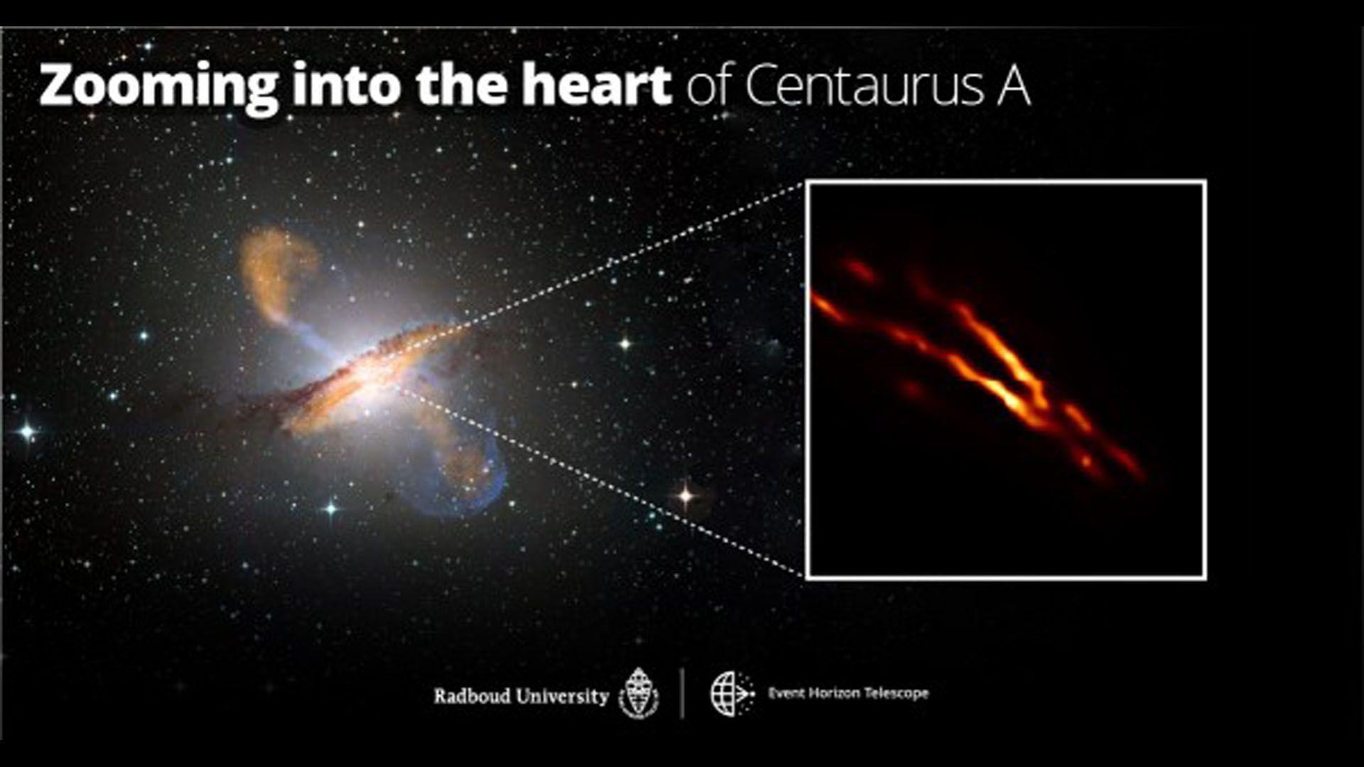 Ученым удалось запечатлеть струи плазмы, которые вырываются из чёрной дыры (ФОТО) - фото 3