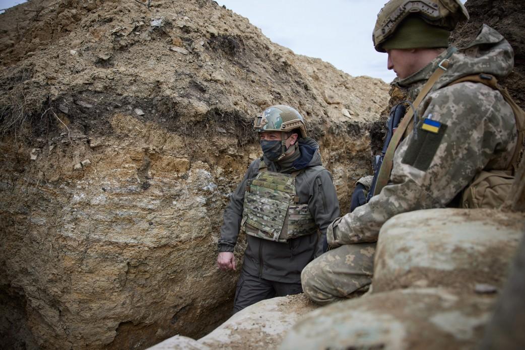Зеленский побывал с визитом на Донбассе: подробности (ФОТО) - фото 8