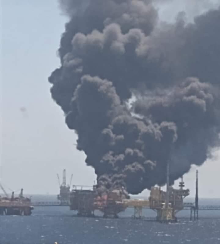 Взрыв на нефтяной платформе в Мексиканском заливе: сколько человек пострадало - фото 3