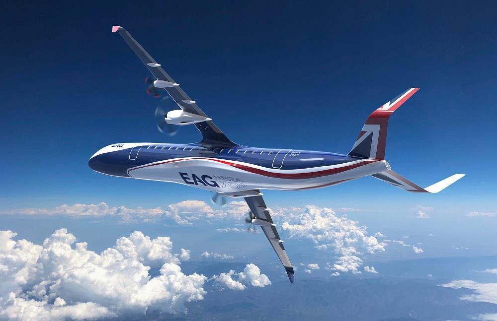 Британцы представили концепт уникального гибридного самолета - фото 2