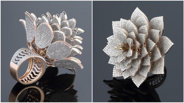 Неймовірна розкіш: ювелір створив каблучку з рекордною кількістю діамантів (фото) - фото 2