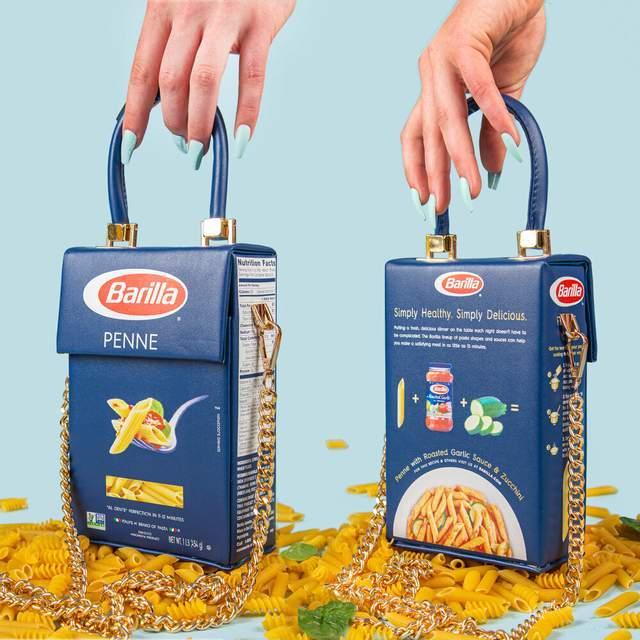 Дизайнер превратил пачку макарон в модную сумочку (ФОТО) - фото 2