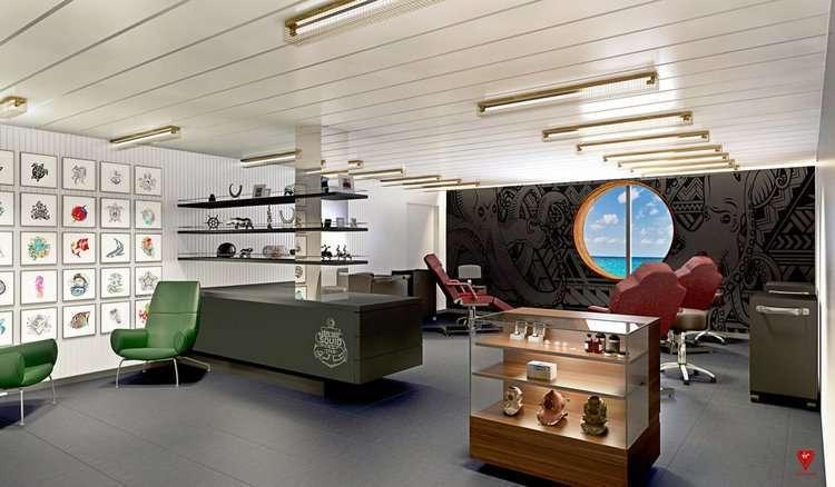 Круизный лайнер магната Ричарда Брэнсона: фото изнутри - фото 10