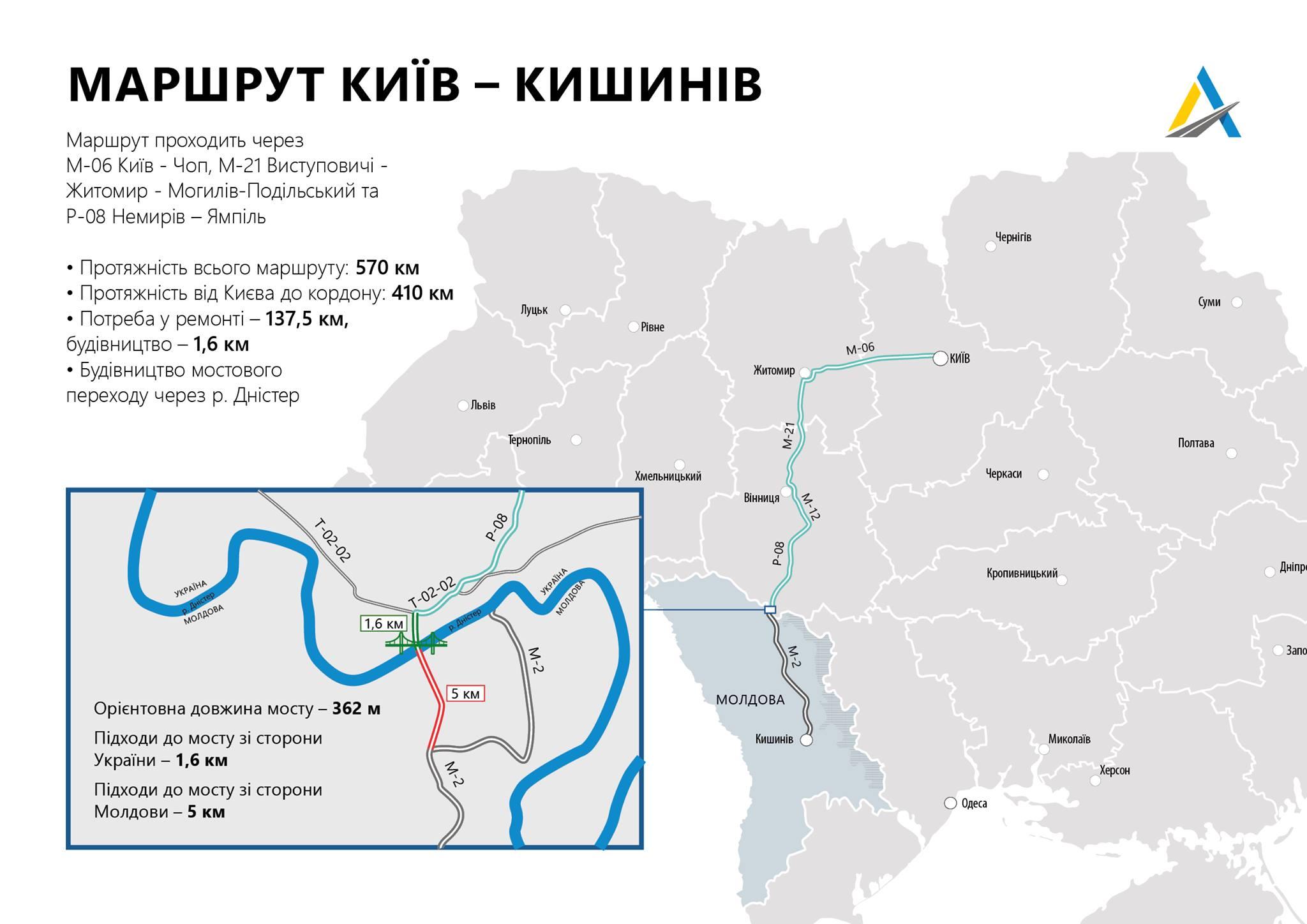 Мост из Украины в Молдову: появилось фото проекта - фото 2