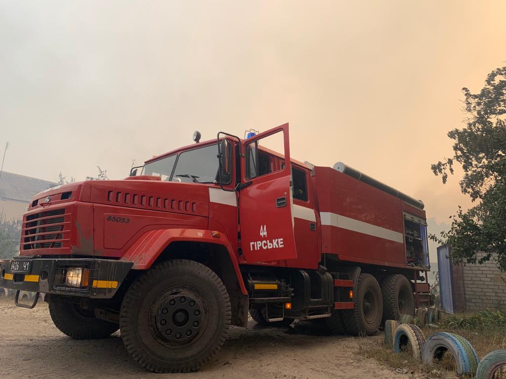 Пожары в Луганской области: устрашающие фото масштабного огня - фото 13