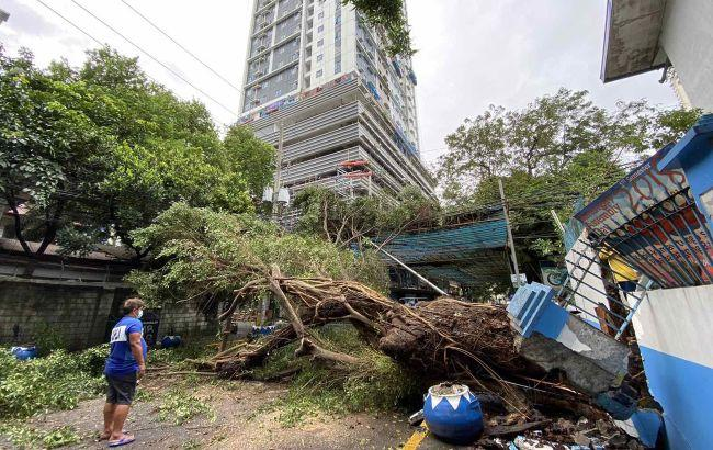 На Филиппины обрушился мощный тайфун - фото 3