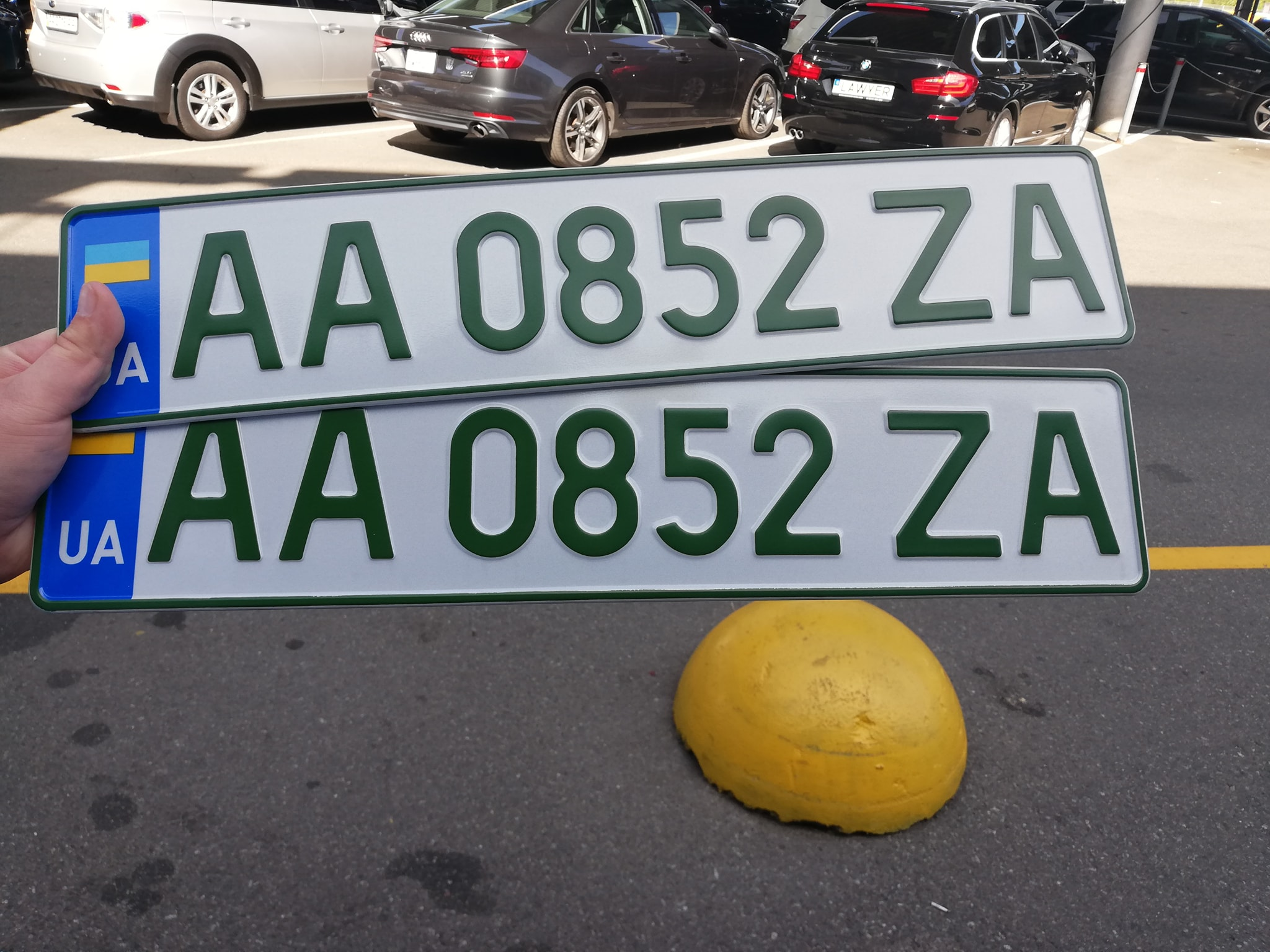 Владельцам электрокаров начали выдавать зеленые номера - фото 2