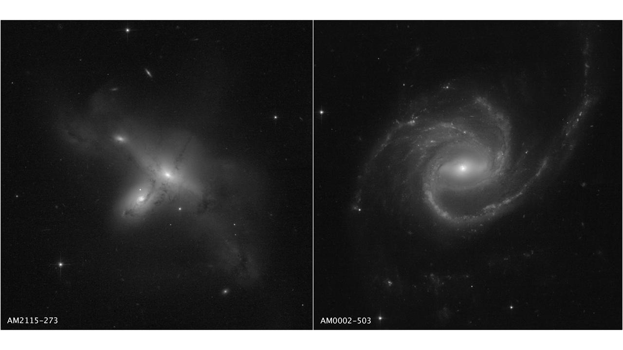 Первые снимки после перезагрузки: Hubble показал две необычные галактики (ФОТО) - фото 2