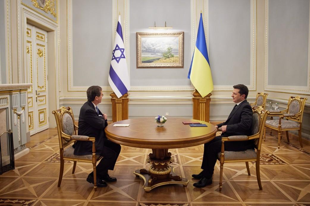 В Украину прибыл президент Израиля: как проходит его официальный визит - фото 7