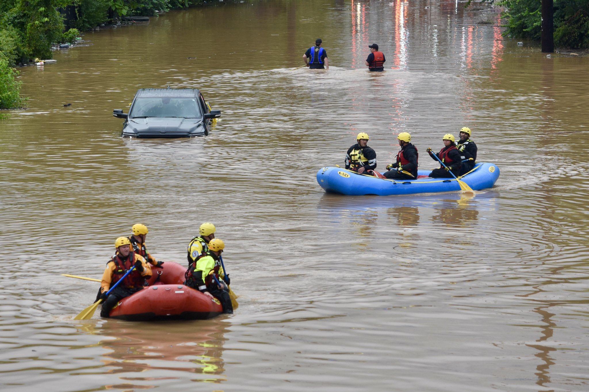Ливни затопили часть штата Вашингтон, Мэриленд и Вирджинию (фото) - фото 4