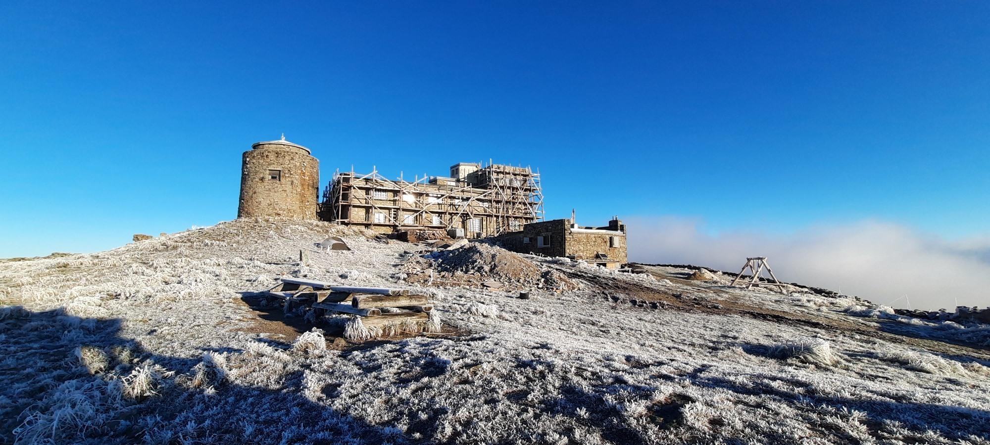 В Карпатах мороз: на горе Поп Иван температура воздуха опустилась до -6 ° С - фото 2